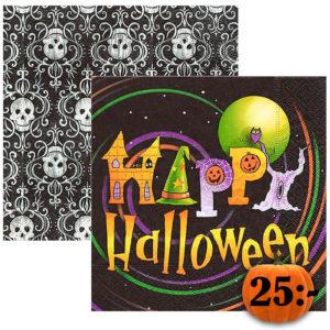halloween-servetter-motiv