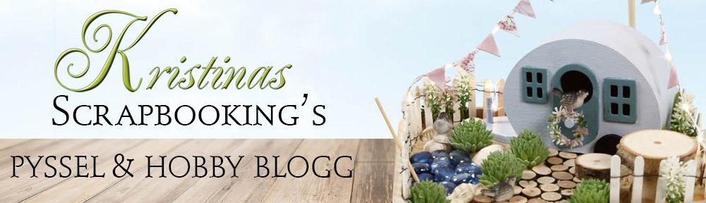 Kristinas Scrapbooking Blogg